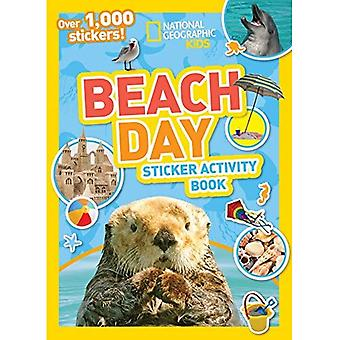 National Geographic Kids Beach Day Sticker Activity Book