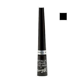 Barry M Metallic Liquid Eye Liner No 1 - Black