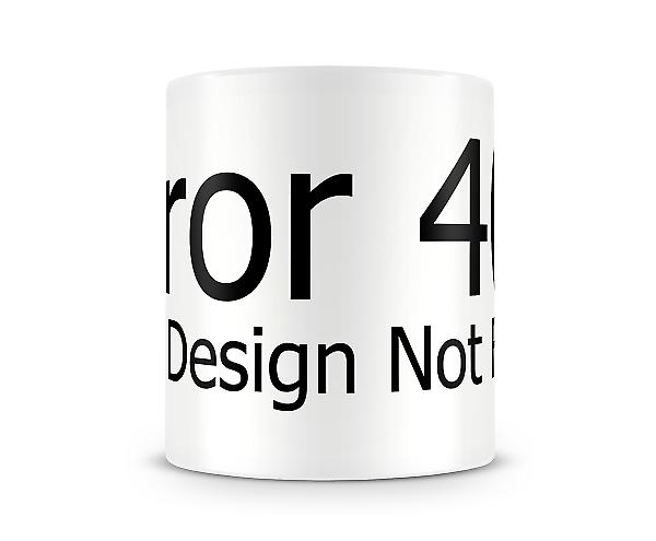 ERROR 404 Wrap Around Mug