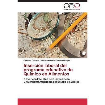 Insercin laboral del programa educativo de Qumico en Alimentos by Caicedo Diaz Carolina