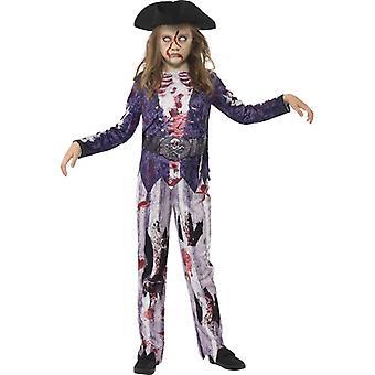 Deluxe Jolly rotte piraat meisje kostuum