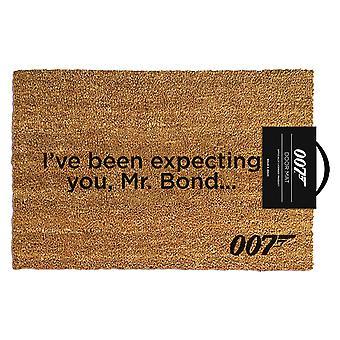 James Bond I've Been Expecting You Doormat