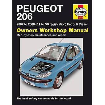 Peugeot 206 02-06 Service and Repair Manual - 9780857339089 Book