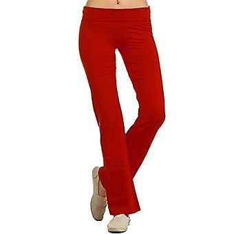 Dbg women's women's yoga gym color straight legged pants