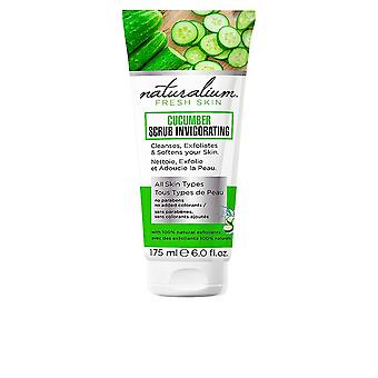 Naturalium Cucumber Scrub Invigorating All Skin Types 175ml