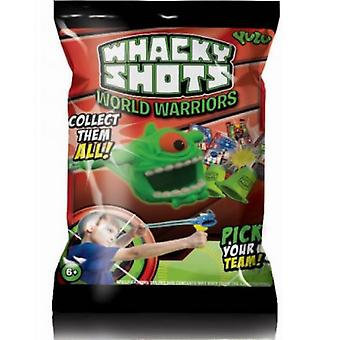 Whacky Shots Foil Pack - 1 Supplied Toy Fun Play Collectable #q7001
