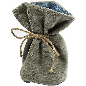 Mcalister textiles alston chenille beige + blue door stop