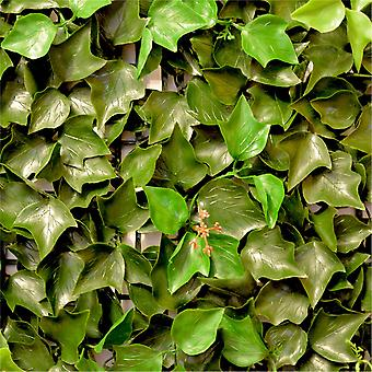 Hedged In Ivy Leaf Artificial Hedging Panel