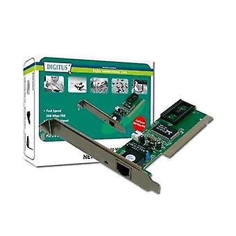 Digitus dn1001 network adapter 10/100 pci 2.1 rj45