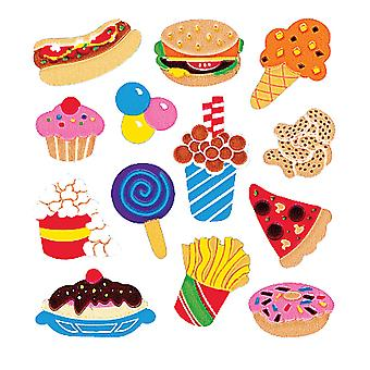 Sandylion Classpak Stickers Junk Food Slcp4503 05672