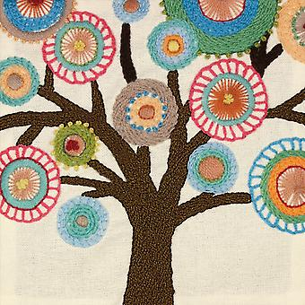 Handmade Collection Tree Crewel Embroidery Kit 10