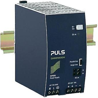 Rail mounted PSU (DIN) PULS CPS20.481 48 Vdc 10 A 480 W 1 x