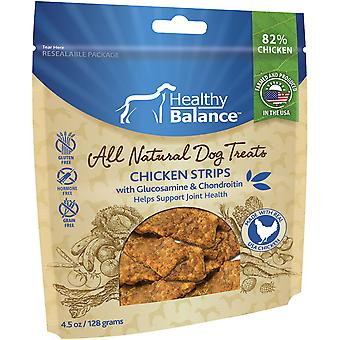 Healthy Balance Dog Treats 4.5oz-Chicken Strips Hip & Joints HB45OZ-51024