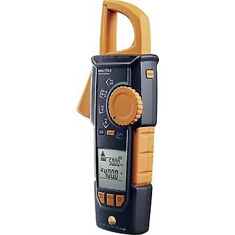 Current clamp, Handheld multimeter digital testo True-rms Stromzange - testo 770-2 Calibrated to: Manufacturer standards