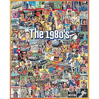 The Eighties 1000 piece jigsaw puzzle 760mm x 610mm  (wmp)