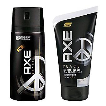 Axe Peace Desodorante 150 Ml + Gel Fijacion 125 Ml