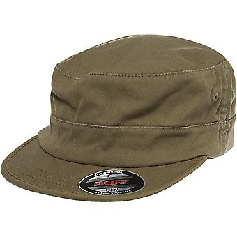 Flexfit ARMY MILITARY Fitted Garment Washed Cap - loden