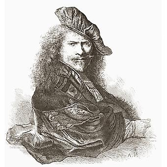 Rembrandt Harmenszoon Van Rijn 1606  PosterPrint