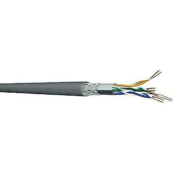 Network cable CAT 5e SF/UTP 4 x 2 x 0.2 mm² Grey DRAKA 1000536-00250RW Sold per metre
