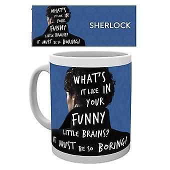 Sherlock What's It Like Mug