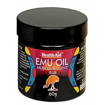 Health Aid Emu Oil - Muscle & Joint Rub 60g