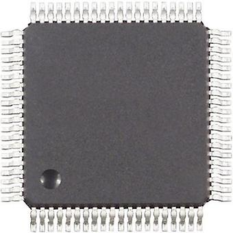 Embedded microcontroller MC9S12DG256CFUE QFP 80 (14x14) NXP Semiconductors 16-Bit 25 MHz I/O number 59