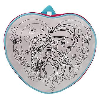 Official | DISNEY FROZEN | Colour in Bag with Pens
