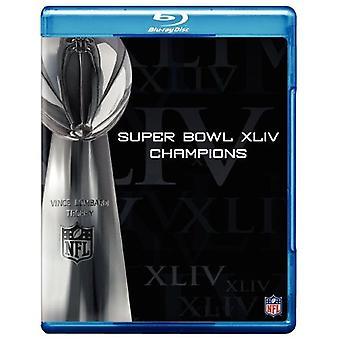 NFL Super Bowl 44 Champions [BLU-RAY] USA importerer