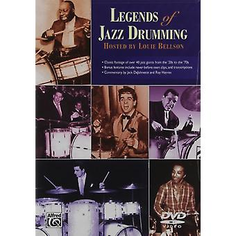 ジャズ ドラム 1 & 2 【 DVD 】 アメリカ輸入の伝説