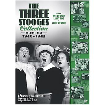 Three Stooges - Three Stooges: Vol. 3- Collection 1940-42 [DVD] USA import
