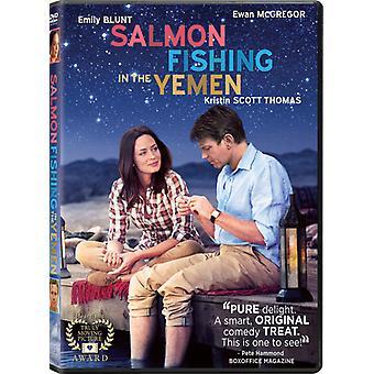 Pesca do salmão no Iêmen [DVD] EUA importar