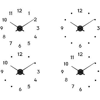 Balance Wall Clock 60 cm Black (Home , Decoration , Clocks)