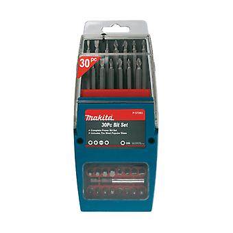 P-57283 MAKITA 30PC BIT SET IN BUTTERFLY CASE (ACCESSORIES)