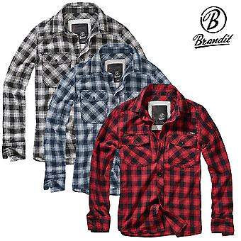 Brandit Hemd Great Creek Checkshirt