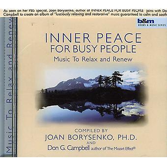 Joan Borysenko - indre fred for Busy People: musik til at slappe af og forny [CD] USA import