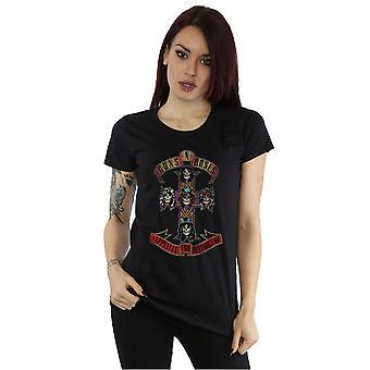 Guns N Roses kvinders appetit for Destuction nødstedte T-Shirt