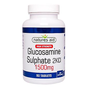 Natures Aid Glucosamine Sulphate 1500mg (High Strength) , 90 Tablets