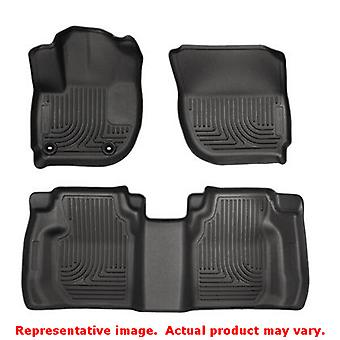 Husky Liners 99491 Black WeatherBeater Front & 2nd Seat FITS:HONDA 2015 - 2015