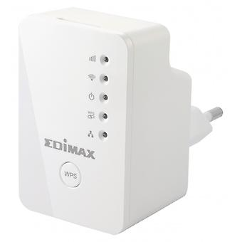 EDIMAX wireless Repeater/Extender N300 2.4 GHz 10/100 MB, bianco