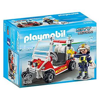 Playmobil 5398 Fire Quad (Toys , Dolls And Accesories , Miniature Toys , Vehicles)