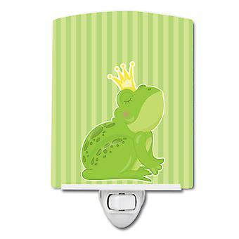 Carolines Schätze BB8759CNL Prinz Frog Keramik Nachtlicht