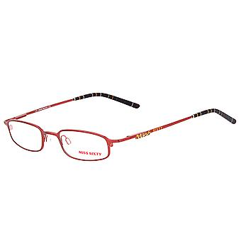 MISS SIXTY women's metal eyeglass frame Red