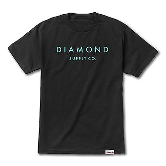 Tiff-Diamond Supply Co Stein geschnittenen T-shirt schwarz