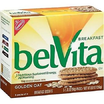 Belvita Golden Oat Breakfast Biscuits 2 Box Pack