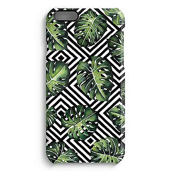 iPhone 6 Plus Full Print Case (Glossy) - Geometric jungle