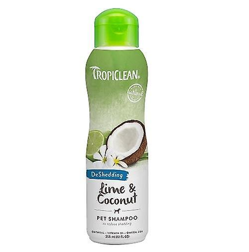 Tropiclean Lime & Coconut Pet Shampoo (For Shedding Reduction)