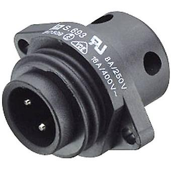 Binder 09-4223-00-04 09-4223-00-04 Standard Circular Connector Series 693 Nominal current (details): 16 A Number of pins