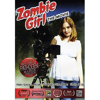 Zombie pige: Movie [DVD] USA importerer