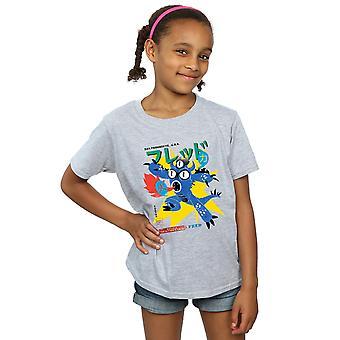 Disney Girls Big Hero 6 Fred Ultimate Kaiju T-Shirt
