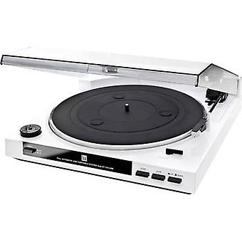USB turntable Dual DT 210 weiß Belt drive White